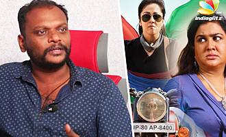 Urvashi scared to sit behind Jyothika bike : Magalir Mattum Director Bramma