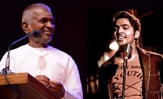 Soul Stirring! G.V. Prakash sings for Ilayaraja