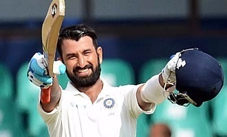 Cheteshwar Pujara batted on all five days in the Kolkata Test!