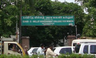 சென்னை கல்லூரி மாணவிகள் 105 பேர் திடீரென மருத்துவமனையில் அனுமதி