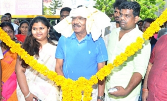 Bharathiraja at Cook Gramam Restaurant Inauguration