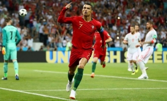 FIFA World Cup : Christiano Ronaldo does a stunning hat-trick against Spain