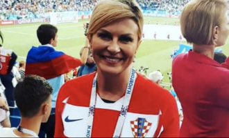 Croatian President's heart-winning gesture after FIFA World Cup finals