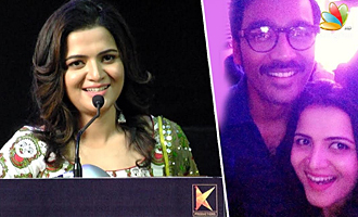 Dhanush took so much care of me : Anchor DD's Speech