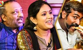 Vijay Sethupathi Has Unique Eating Habits : Chetan & Devadarshini Interview