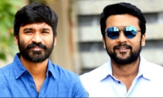 Dhanush in a Suriya film for the very first time!