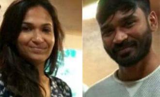 Dhanush and Soundarya meet a popular Tamil writer