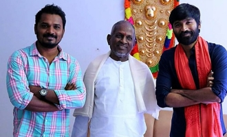 Dhanush teams up with Ilayaraja once again!