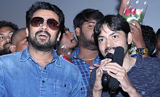 Suriya 'Gang' Press Meet & Theater Visit in Rajahmundry