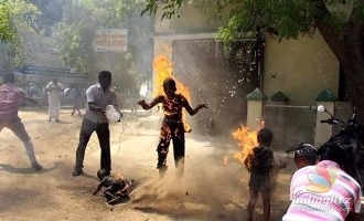 Family of four self-immolate in front of the collectorate