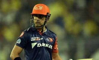 Gautam Gambhir not Delhi Daredevils captain anymore