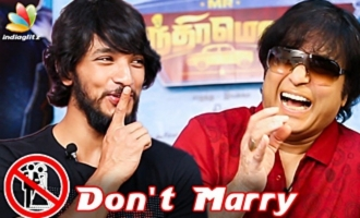 DON'T MARRY !! Karthik Advice to Gautham - Fun Interview
