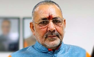 Democracy would be safe as long as Hindus are the majority: Giriraj Singh