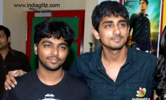 GVP and Siddharth begin an exciting new movie