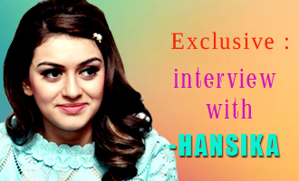 Exclusive interview with the ever bubbly Hansika