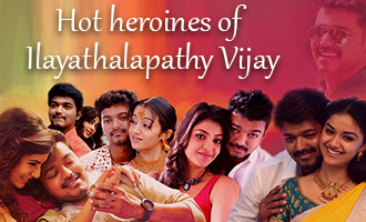 Hot heroines of Ilayathalapathy Vijay