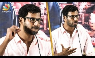 """Arjun Sir courageously spoke Aadhaar card dialogue"" - Vishal"