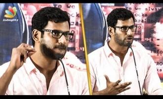 """Arjun Sir courageously spoke Aadhaar card dialogue"" - Vishal"