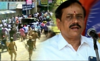 Nothing wrong in police firing, H Raja on Sterlite protests