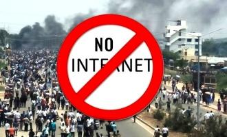 தூத்துகுடி பதட்டம் எதிரொலி: 3 மாவட்டங்களில் இணையதள சேவை முடக்கம்