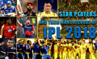 Star Players and their Many Records of IPL 2018