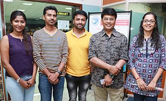 'Ippadai Vellum' Team at 15th Chennai International Film Festival