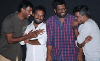 Vishal lets out interesting details about 'Irumbu Thirai'