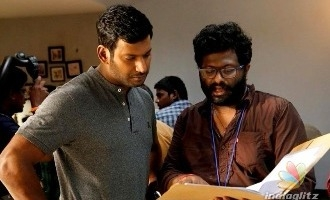 Director reveals why Vishal wanted to be the villain