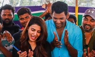 Vishal Samantha IrumbuThirai shoot wrapped up