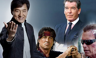 Jackie Chan teams up with Terminator, Rambo and James Bond
