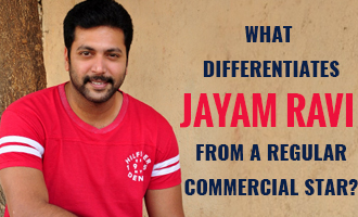 What differentiates Jayam Ravi from a regular commercial star?