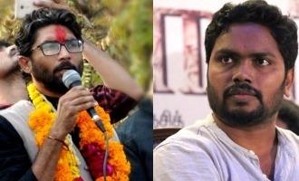 Pa. Ranjith congratulates social activist Jignesh Mevani's massive win