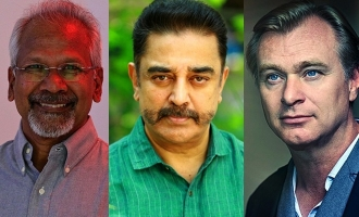 Kamal Haasan, Mani Ratnam and Christopher Nolan coming together