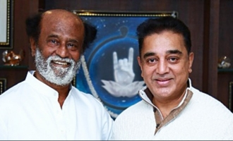 Kamal calls on Rajini, invites him for his Wednesday meeting