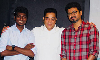 Kamal Haasan Watched 'Mersal' With Team
