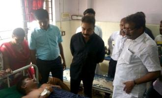 Kamal Haasan rushes to Thoothukudi - police take severe action against him