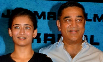 Akshara Haasan clarifies to Kamal about her religion
