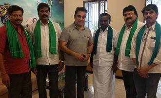 Farmers meet Kamal Haasan