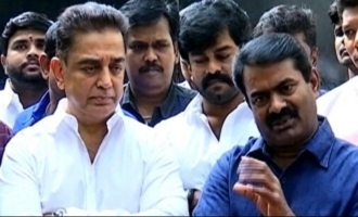 Kamal meets Seeman, here's what each had to say about the other
