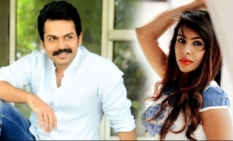 Karthi gives his word on Sri Reddy's sexual allegations