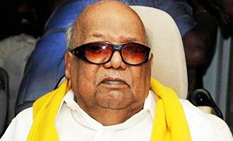 Karunanidhi admitted in hospital again