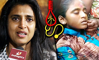 Kasthuri emotional speech after Anitha's Suicide