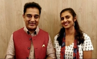 Kasturi loses her sleep over Kamal's 'maiam'