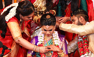 Keerthana and Akshay Wedding