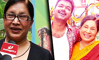 Vijay is very sincere, it was jolly during shoot : Kovai Sarala Interview