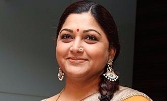 நான் 'மெர்சலாயிட்டேன்': 'மெர்சல்' படக்குழுவுக்கு குஷ்பு பாராட்டு