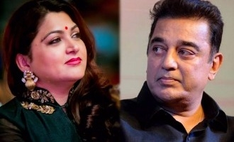 Kushboo not interested in Kamal's political party