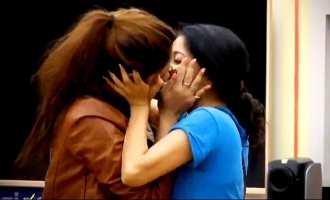 Brazen lip-lock between Bigg Boss contestants! 'Maruthuva mutham' again?
