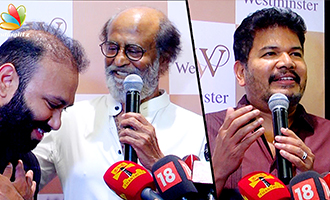 Rajini, Shankar at Westminister Hospital Inauguration with Lyca Productions