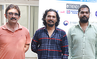 'Maanagaram' Team at 15th Chennai International Film Festival